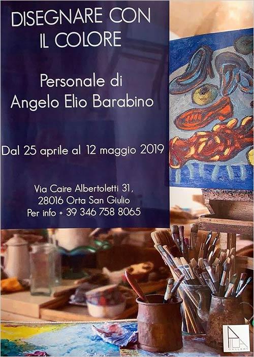 Mostra Angelo Elio Barabino a Palazzo Ubertini
