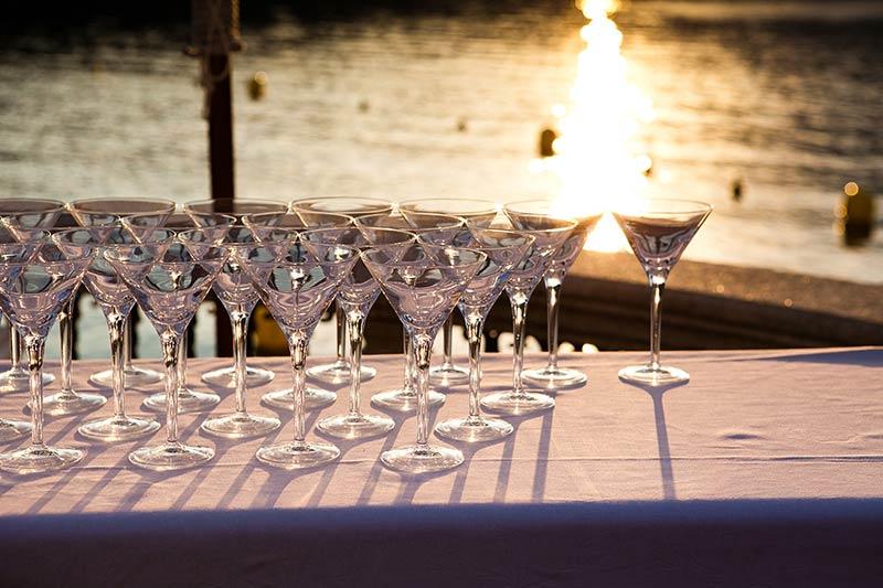 Ricevimento nozze al ristorante Lido del lago d'Orta
